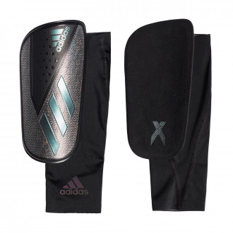 Espinillera adidas X Foil Black