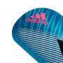 Espinillera X Pro Bright cyan-Black-Shock pink