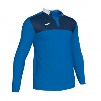 Polo  Joma Winner II m/l Royal-Bleu marine
