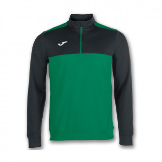 Sweatshirt  Joma Winner Green-Black