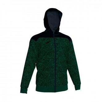 Veste Joma à capuche Winner Vert-Noir