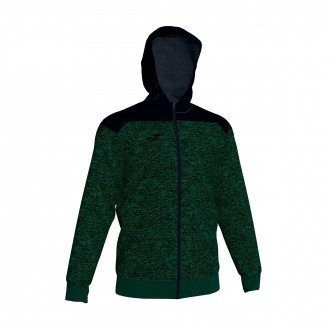 Jacket Joma Con Capucha Winner Green-Black