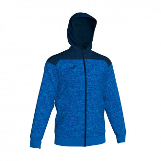 Veste Joma à capuche Winner Royal-Bleu marine