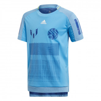 Maglia adidas Icon Messi Niño Lucky blue-Collegiate Royal