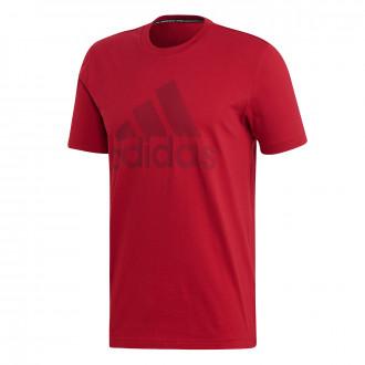 Maillot  adidas Bos Logo Red