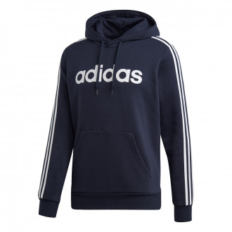 Felpa adidas Essentials 3S Pullover Fleece INK
