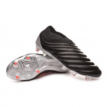 Chuteira Copa 19+ FG Core black-Hi red-Silver metallic