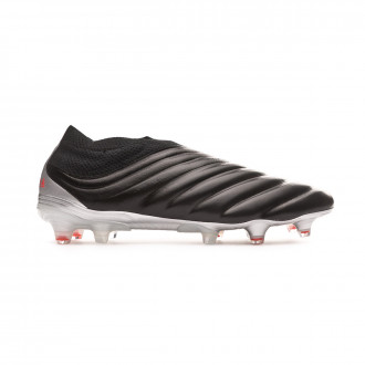 Chaussure de foot  adidas Copa 19+ FG Core black-Hi red-Silver metallic