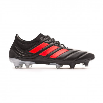 Football Boots  adidas Copa 19.1 FG Core black-Hi red-Silver metallic