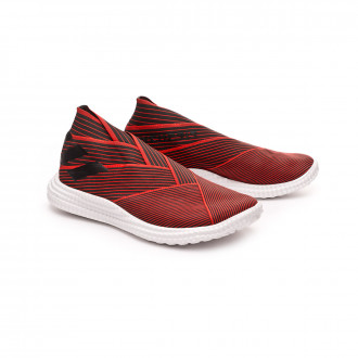 Zapatilla  adidas Nemeziz 19.1 TR Core black-Active red