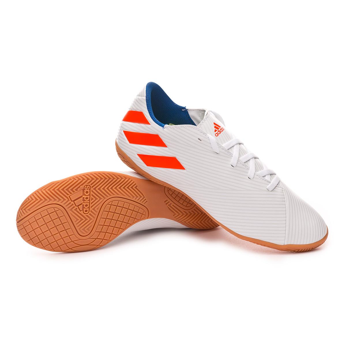 19 Blue Zapatilla Solar Red White Nemeziz 4 In Football Messi CthrdxQs