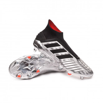 Predator 19+ FG Silver metallic-Core black-Hi red