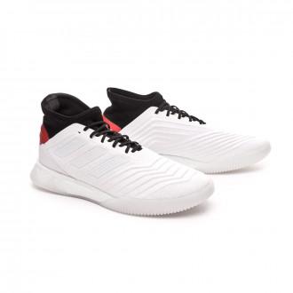 Sapatilha  adidas Predator 19.1 TR White-Hi red