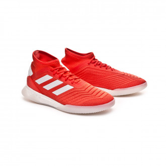 Baskets  adidas Predator 19.1 TR Hi red-White-Silver metallic