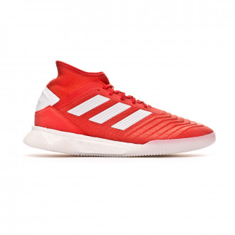 Trainers  adidas Predator 19.1 TR Hi red-White-Silver metallic