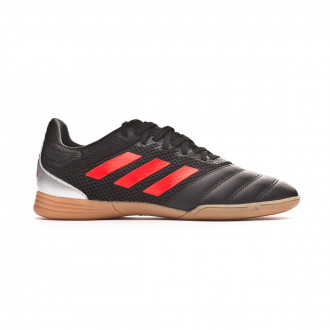 Tenis  adidas Copa 19.3 IN Sala Niño Core black-Hi red-Silver metallic
