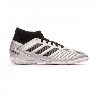 Zapatilla  adidas Predator 19.3 IN Niño Silver metallic-Core black-Hi red