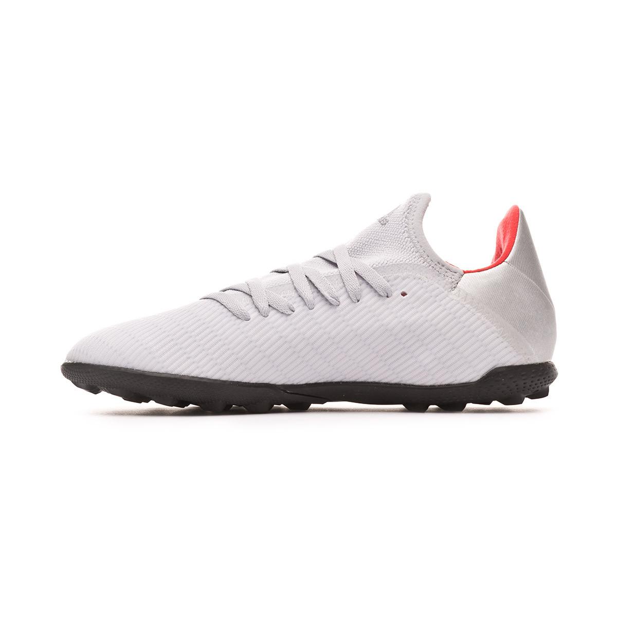 a387e9ce8 Football Boot adidas X 19.3 Turf Niño Silver metallic-Hi red-White -  Football store Fútbol Emotion