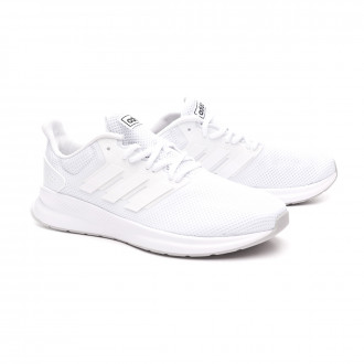 Tenis  adidas Falcon Niño White-Grey two