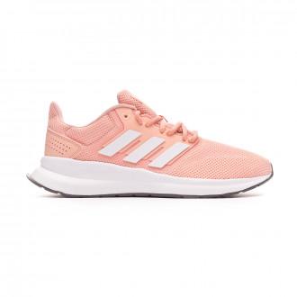 Trainers adidas Falcon Glow pink-White-Grey three