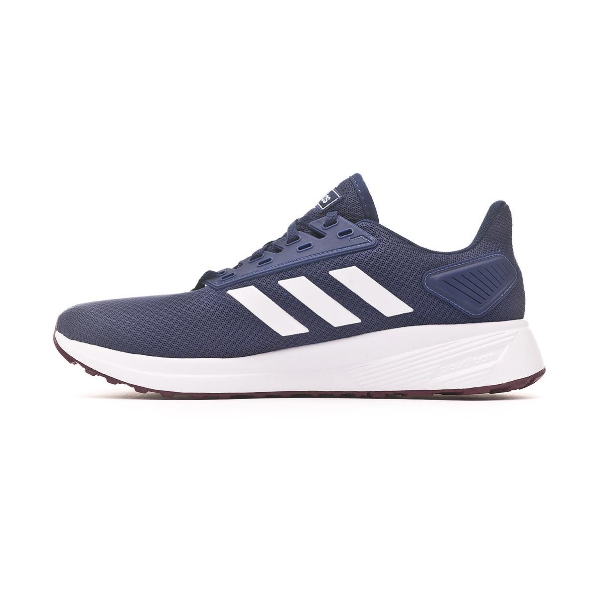 Buscar estilo Fahrenheit  Trainers adidas Duramo 9 Dark blue-White-Maroon - Football store Fútbol  Emotion