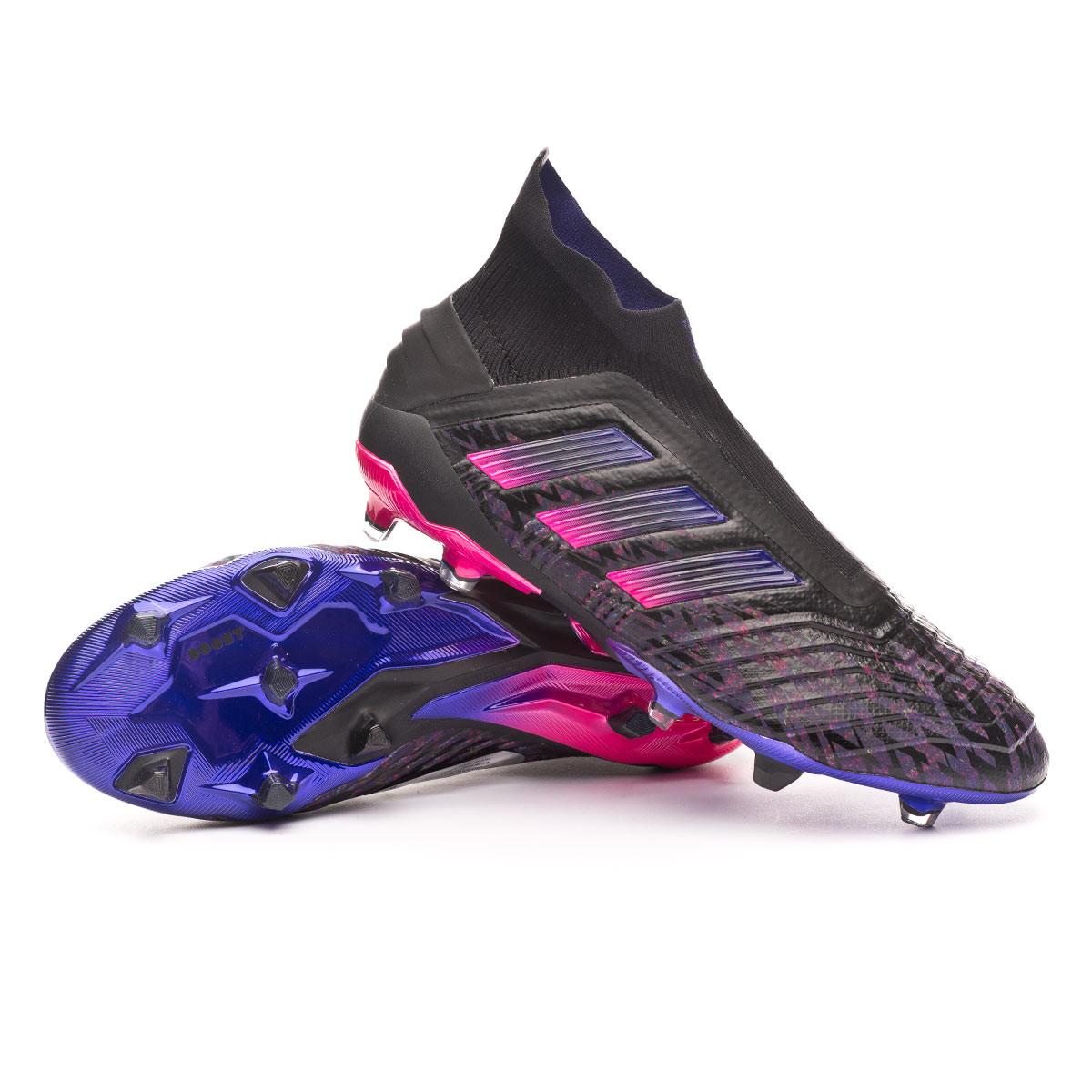 Apto Cayo Electrizar  Zapatos de fútbol adidas Predator 19+ FG Paul Pogba Core black-Shock pink -  Tienda de fútbol Fútbol Emotion