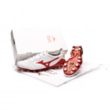 Bota Morelia NEO Fernando Torres LTD ED White-High risk-Gold