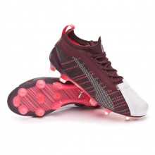 Football Boots One 5.1 FG/AG Mujer Garnet-White