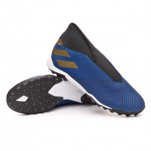 Zapatilla Nemeziz 19.3 LL Turf Football blue-Gold metallic-Core black