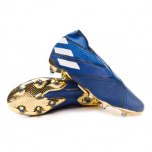 Bota Nemeziz 19+ FG Football blue-White-Core black