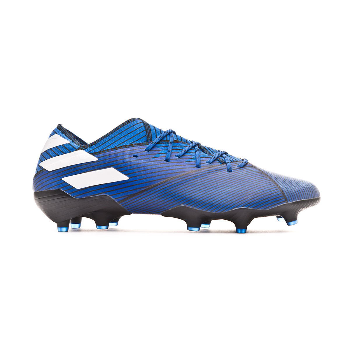 material seleccionado Reino Unido estilos frescos Football Boots adidas Nemeziz 19.1 FG Football blue-White-Core ...