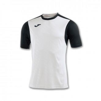 Jersey Joma Torneo II m/c White-Black
