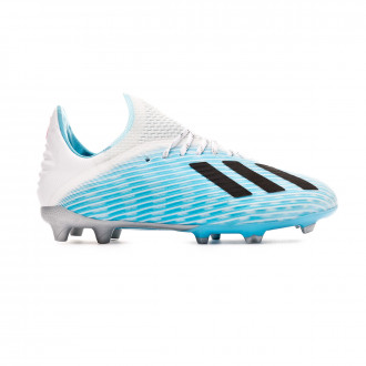 Football Boots adidas X 19.1 FG Niño Bright cyan-Core black-Shock pink