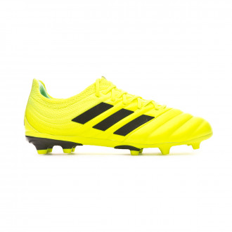 Football Boots  adidas Copa 19.1 FG Niño Solar yellow-Core black-Solar yellow