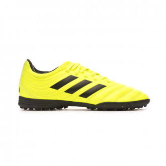 Chaussure de football adidas Copa 19.3 Turf Niño Solar yellow-Core black-Solar yellow