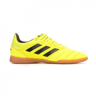 Sapatilha de Futsal adidas Copa 19.3 IN Sala Niño Solar yellow-Core black-Solar yellow