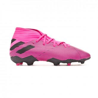 Chuteira adidas Nemeziz 19.3 FG Criança Shock pink-Core black-Shock pink