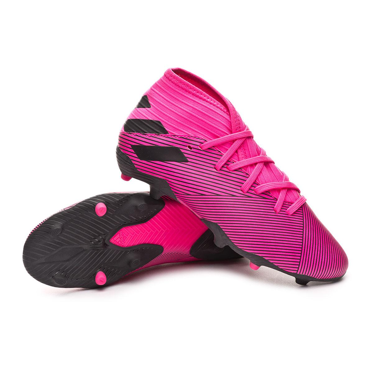 niño mejor mayorista venta caliente más nuevo adidas Nemeziz 19.3 FG Niño Football Boots