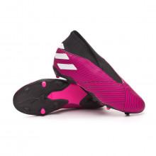 Scarpe  Nemeziz 19.3 LL FG Niño Shock pink-White-Core black