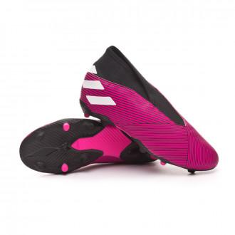 Nemeziz 19.3 LL FG Niño Shock pink-White-Core black