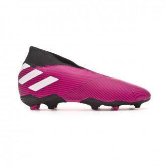 Chuteira adidas Nemeziz 19.3 LL FG Niño Shock pink-White-Core black