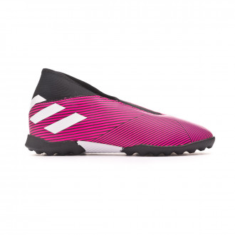 Football Boot adidas Nemeziz 19.3 LL Turf Niño Shock pink-White-Core black