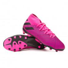 Scarpe  Nemeziz 19.3 MG Bambino Shock pink-Core black-Shock pink