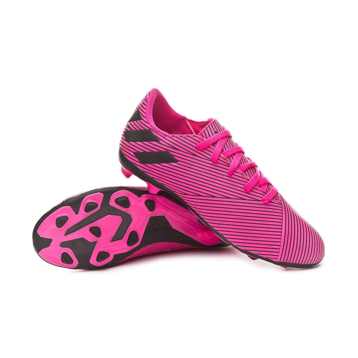 Bota Nemeziz 19.4 FxG Niño Shock pink Core black Shock pink