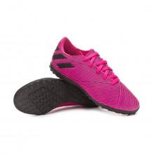 Scarpe Nemeziz 19.4 Turf Bambino Shock pink-Core black-Shock pink