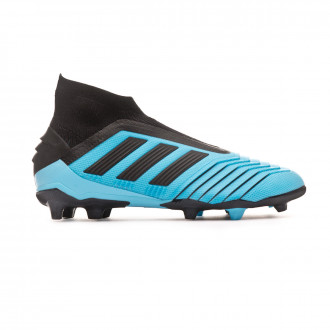 Football Boots adidas Predator 19+ FG Niño Bright cyan-Core black-Solar yellow