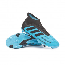 Football Boots Predator 19.1 FG Niño Bright cyan-Core black-Solar yellow