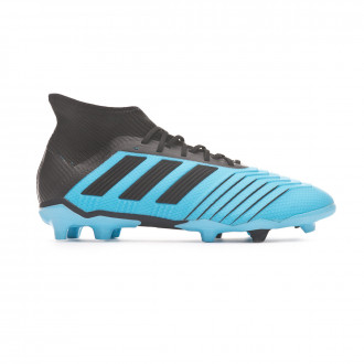 Football Boots  adidas Predator 19.1 FG Niño Bright cyan-Core black-Solar yellow