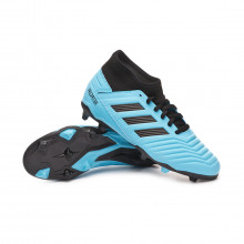 Chaussure de foot Predator 19.3 FG Niño Bright cyan-Core black-Solar yellow