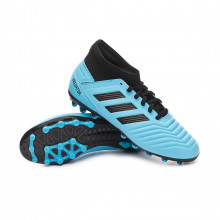 Scarpe  Predator 19.3 AG Niño Bright cyan-Core black-Solar yellow